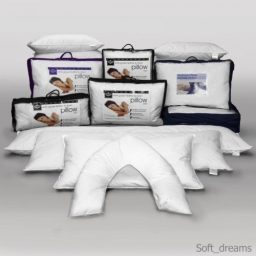 Pack of 4 Goose Feather & 15% Down Pillows