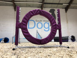 Hoopers equipment at South West Dog Skills Centre