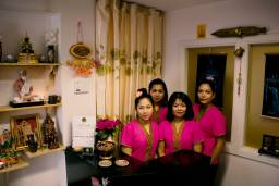 shaba staff at reception