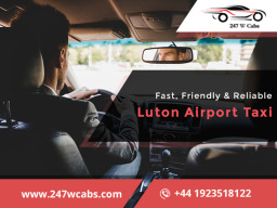 reliable luton airport taxi
