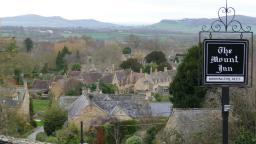 View of The Mount pub Stanton - Cotswold Tours CCT