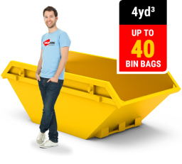 4 CUBIC YARD MINI SKIP