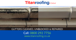 Gutter Cleaning & repair Services