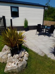 Concrete Flagged Patio