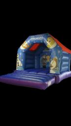 Princess theme bouncy castle.