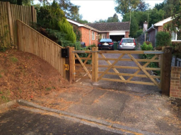 Driveway Gate from BN Fencing
