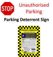 Parking Enforcement Signs