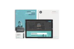 Luke Jackson Design brand identity materials