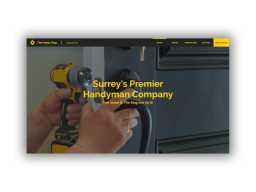 The Handy King Website Design By Tom Gray