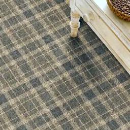 Hugh Mackay Tartan 4M Tartan Pine carpet roomshot