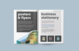 Luke Jackson Design promo booklet design