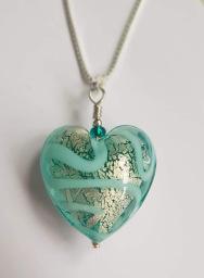 Firefrost Designs Medusa Heart Pendant
