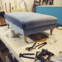 Footstool designed and built