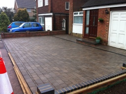 Marshall Block Paved Drive. Cheshunt