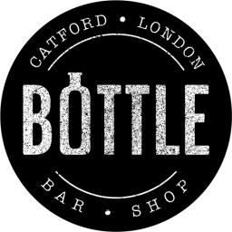 Bottle Bar and Shop sticker logo
