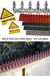 Garden Security Products and Anti-Cat Spikes