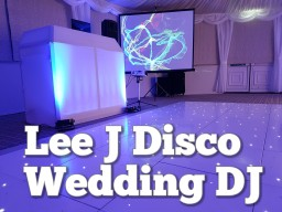 WEDDING DJ Lee J Disco