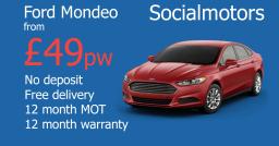 Ford Mondeo car finance