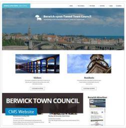 Berwick Town Council Website Designer