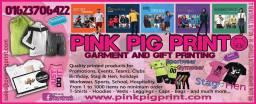 Pink Pig Print Add-001