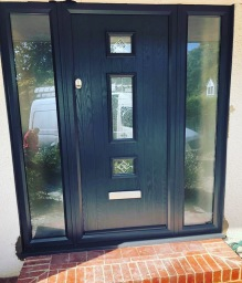 New Composite front door