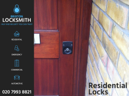 Residential Locksmith Brixton