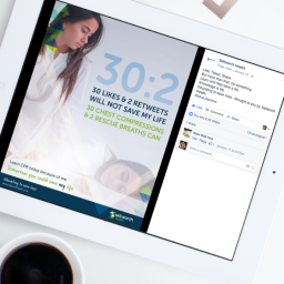 Social media campaign design