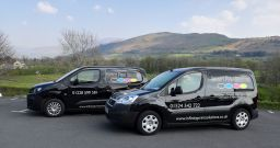 Infinity Print Vans out and about in Lancashire