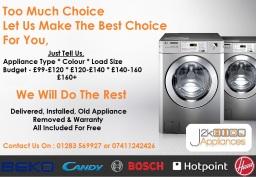 Appliances Delivered Installed Free