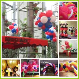 London Balloon Decorations by JoJoFun
