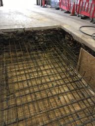 raft pad for 1 million pound machine