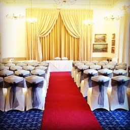 Chair Covers at Down Hall Essex, Chair Cover Hire