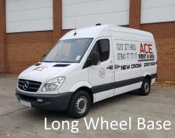 long wheel base transit mercedes sprinter
