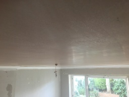 Ceiling back to flat