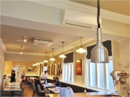 Restaurant Air Conditioning Installation Nottingham