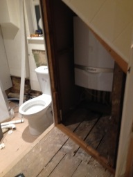 Plumber Bromley installing new bathroom