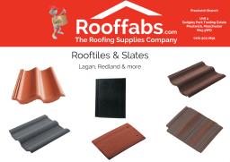 Large range of Tiles & Slates available.