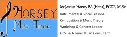 J Horsey Music Tuition - Web Logo