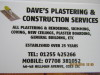 D & S Plasterers