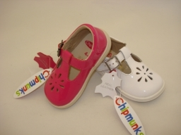 Chipmunks Leather Girls Shoes at just £25.00