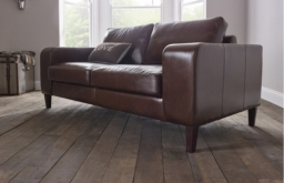 Wellington Contemporary Leather Sofa