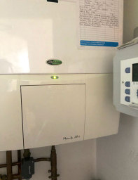 A Gas Boiler Repair in Crossagtes