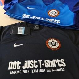 Sponsored football kits