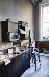 student accommodation kitchen Plummerhouse