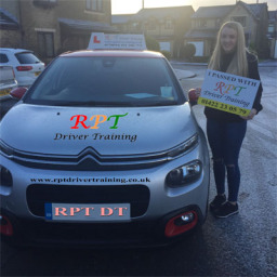 Lucy Sivyer passing in Haifax