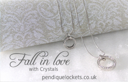 Fall in Love with Crystals Crystal Circle Necklace