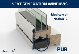 Idealcombi Frame IC and Nation IC windows