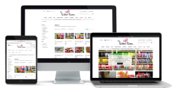 E-commerce work - The Ribbon Room website
