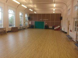 Polyflor Forest FX to a school hall