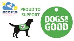 Dogs for Good UK are our chosen charity for 2018